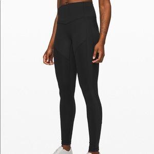 Lululemon black atrp leggings long high rise 4